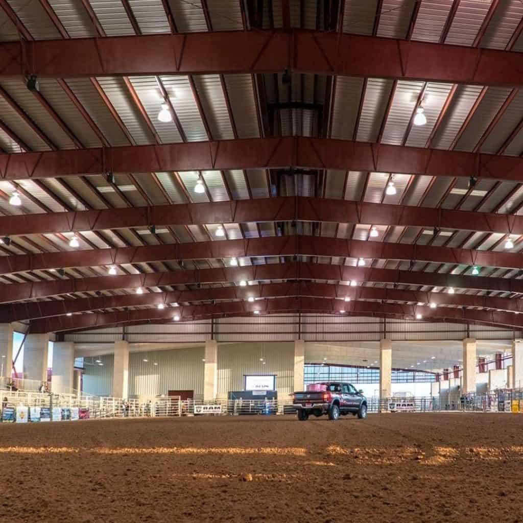 metal building rodeo arena, steel rodeo arena, clearspan rodeo arena, rodeo arena building, rodeo arena structure