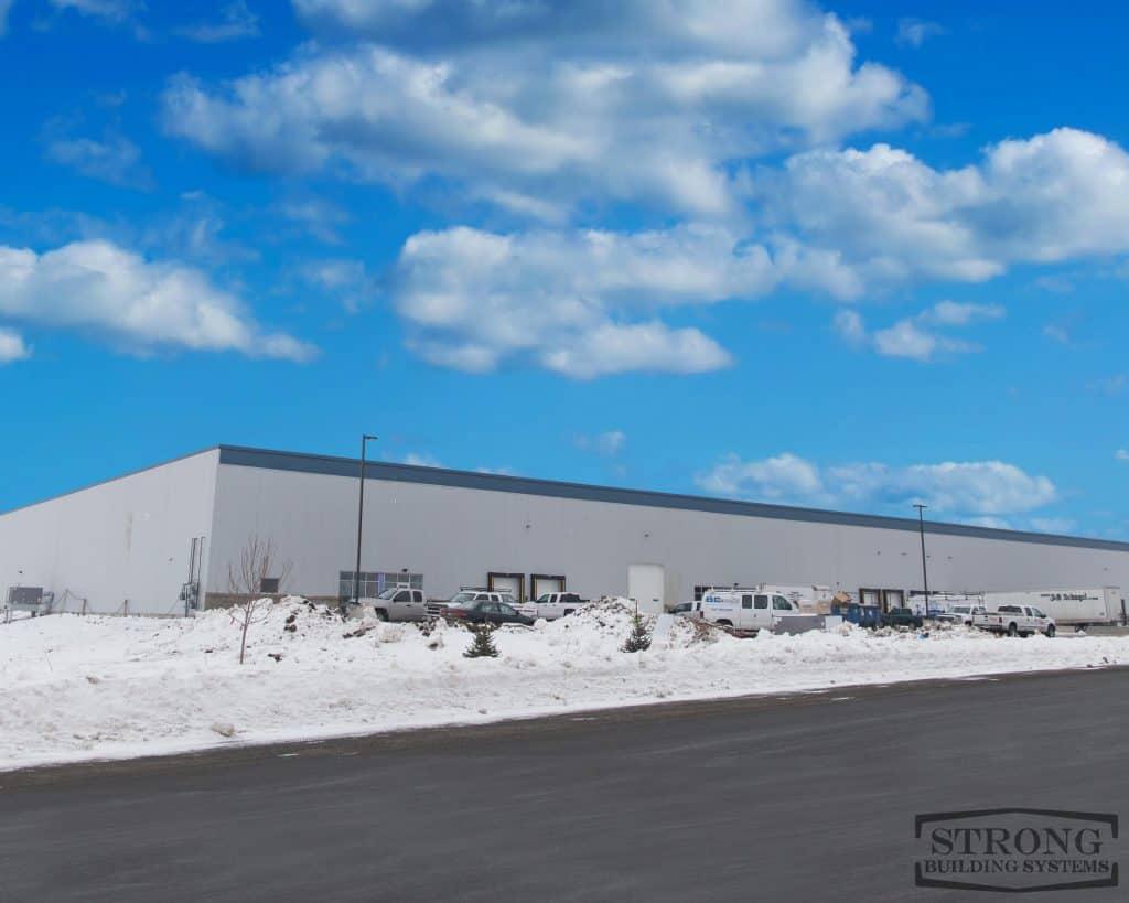 steel cold storage building