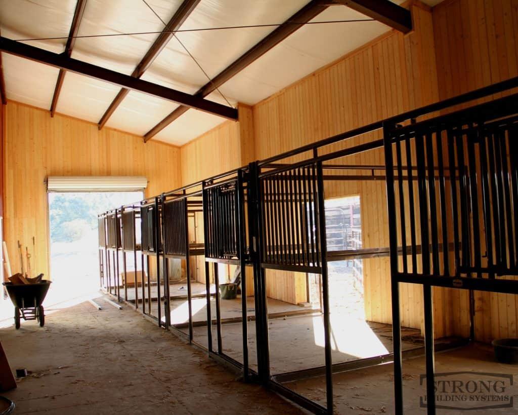 steel indoor riding arena