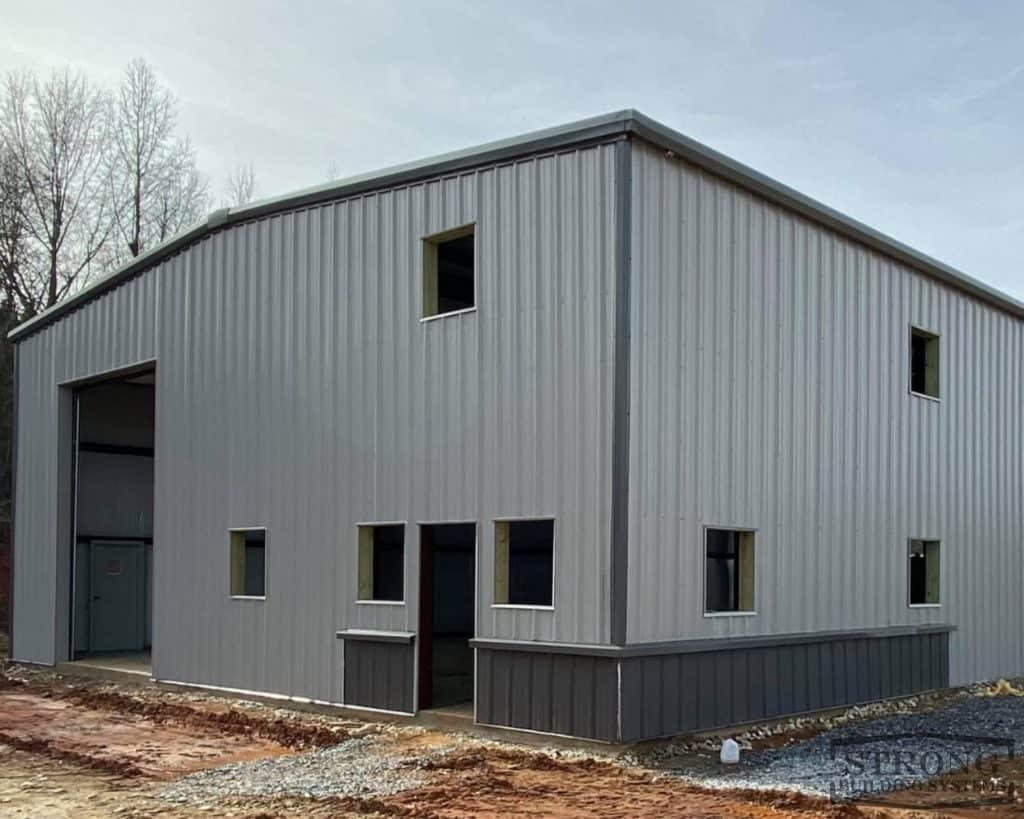 metal workshop building - 2500 x 2000 - 1