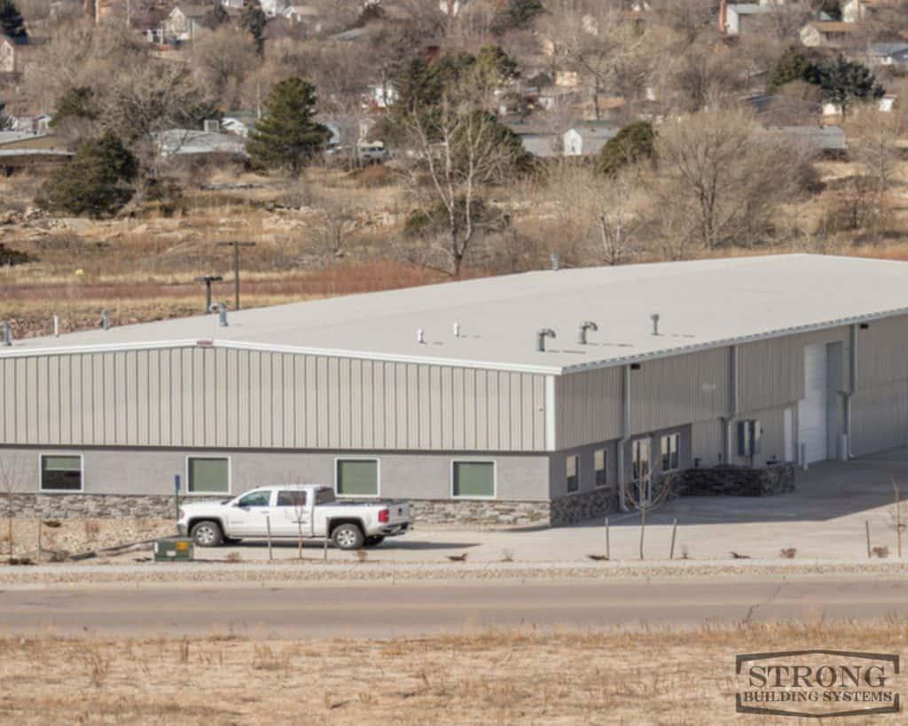 metal workshop building - 2500 x 2000 - 2