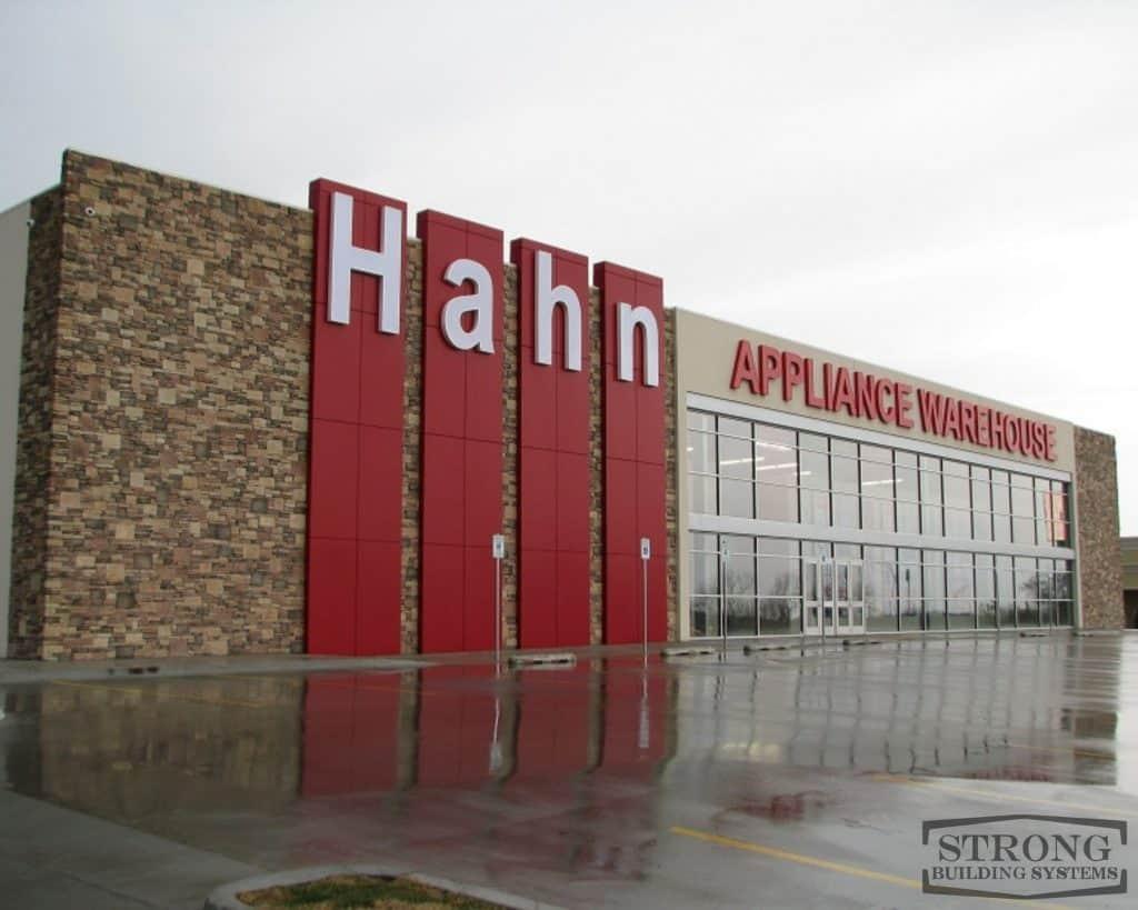 steel retail warehouse