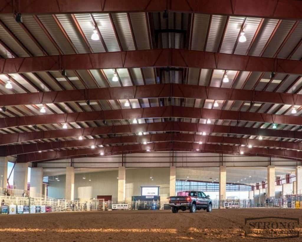 steel rodeo arena