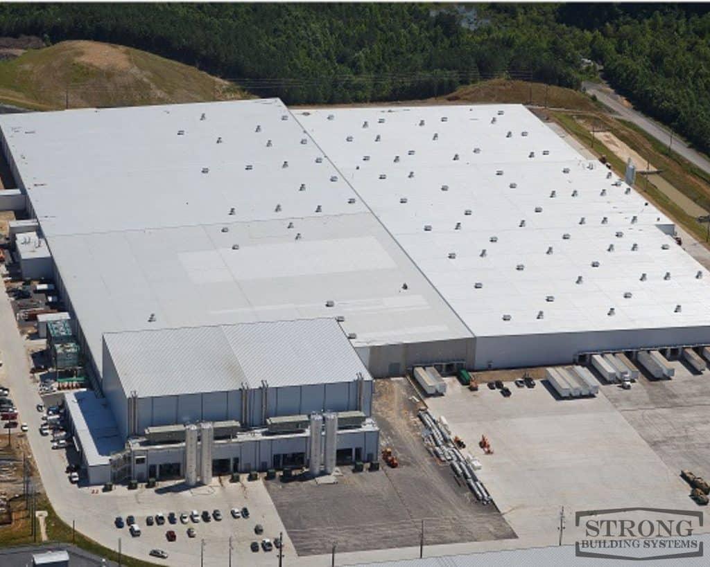 steel warehousese