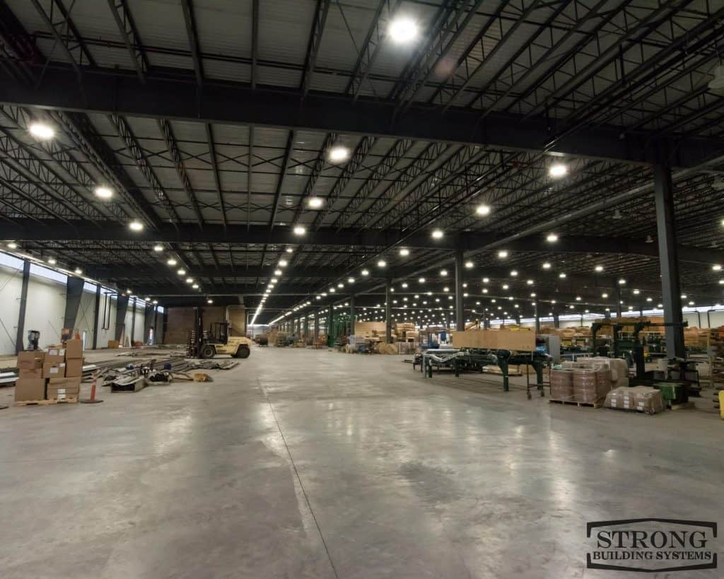 10000 sq ft warehouse cost