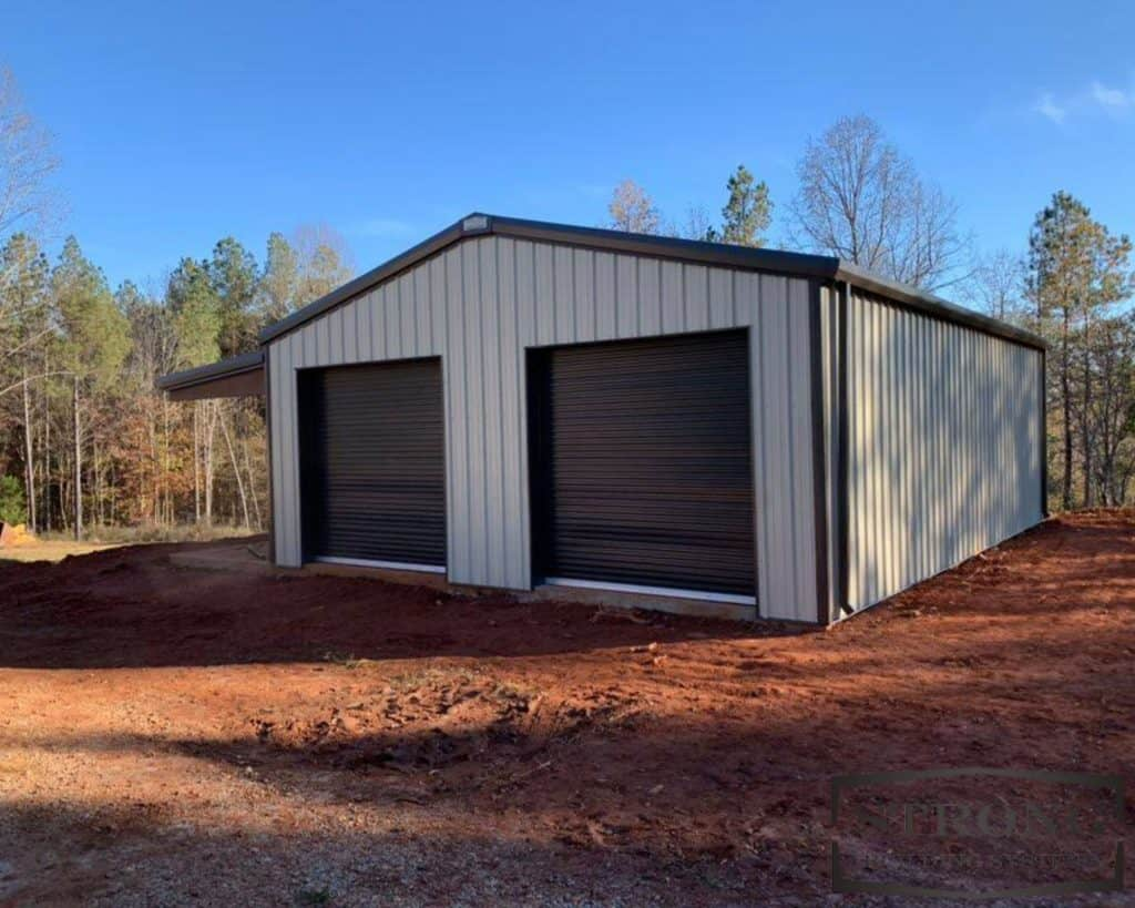 garage building kits, how much does a 40x60 metal building cost